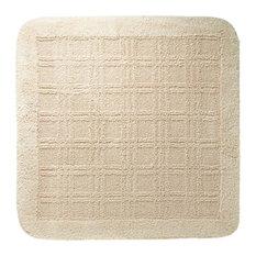 Pixel Cotton Bath Mat, Square