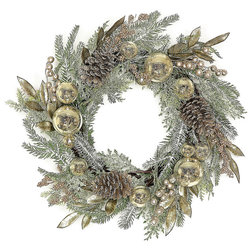 Rustic Wreaths And Garlands by Silk Flower Depot