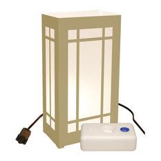 Electric Luminaria Kit with LumaBases Lantern
