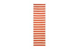 Draper Stripe Rug, Persimmon/Cream