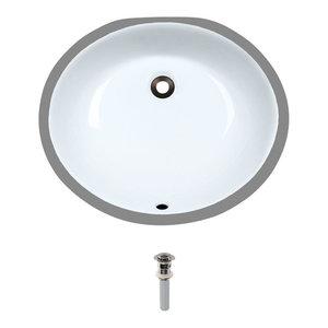 Novatto Chiaro Glass Vessel Bathroom Sink Set Brushed