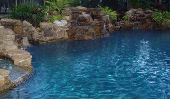WATERFALLS BUILT BY FLORIDA WATERFALLS INC.