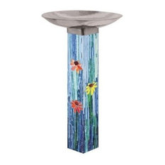 Studio M Mosaic Bird Bath