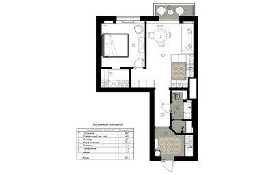 Поиск планировки: «Квартира для тишины» — три плана и финал