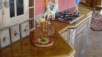 Concrete Kitchen Countertop