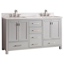 Great Transitional Bathroom Vanities And Sink Consoles by ShopLadder