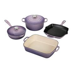Le Creuset Signature Provence Enameled Cast Iron 6 Piece Cookware Set