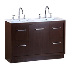 "Bellaterra 48"" Double Sink Vanity"