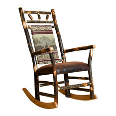 Superbe Furniture Barn USA   Rustic Hickory Straight Back Rocker, Yosemite   Rocking  Chairs