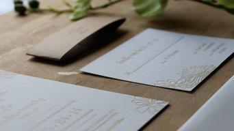 Kate's Letterpress Wedding Invitations