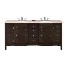 Prima Double Sink Bathroom Vanity Cabinet