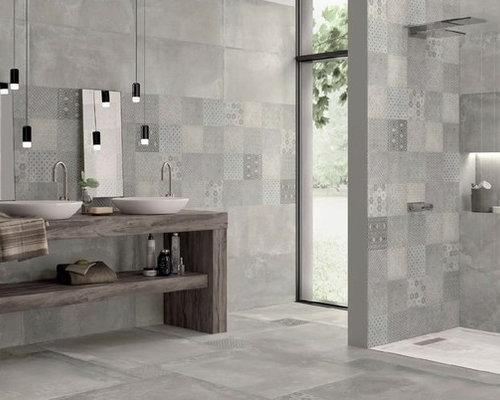 Rivestimenti per bagno e cucina serie cementine