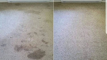 Dynamic Duo Cleaning Before and After Pictures.