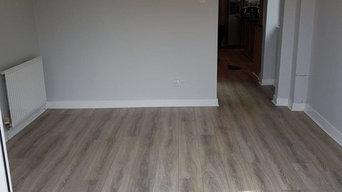 Bardolino Grey Oak Laminate Flooring Installed by Joe Walker's Flooring