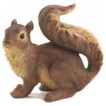 Verdugo Gift Co - Curious Squirrel Garden Statue - This curious little squirrel is surveying his surroundings in search of a delicious snack! Beautifully detailed and charmingly sweet, this statue will make your garden or porch even more enjoyable.
