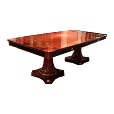 Toole Long Dining Table Solid Wood