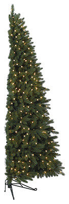 balsam hill fifth avenue flatback artificial christmas tree christmas trees - Flat Back Christmas Tree