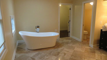 Bathroom - Heated Travertine Spa