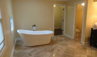 Bathroom - Heated Travertine Spa