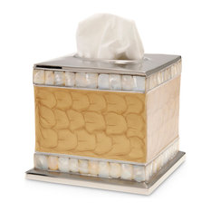 """Classic 5"""" Tissue Cover, Toffee"""