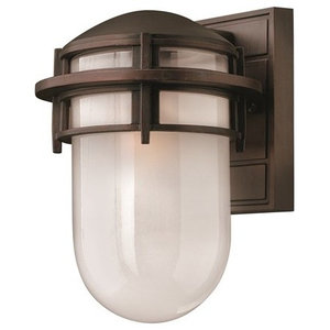 Traditional Outdoor Wall Lantern, Opal Glass, Victorian Bronze
