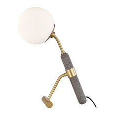 Mitzi Brielle 1-LT Table Lamp HL289201-AGB - Aged Brass