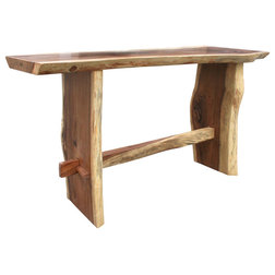 Rustic Outdoor Pub And Bistro Tables by Chic Teak