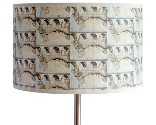 Viaduct Shallow Drum Light Shade - Lampshades