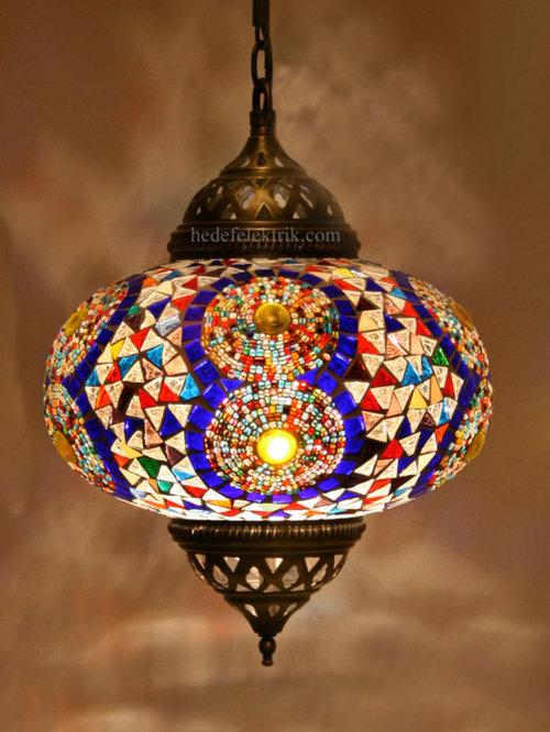 turkish style lighting. turkish style colourful mosaic pendant lamp 22 cm lighting