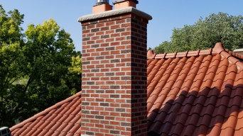 Rebbeckas fireplace chimney