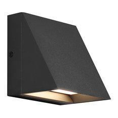 Tech Lighting Pitch Wall Light, LED, Black