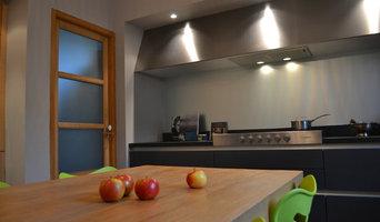 redistribution d'une maison à Bayonne (zone cuisine/repas)