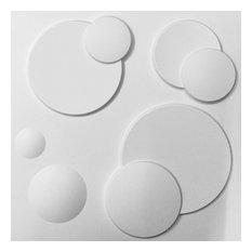 "19 5/8""W x 19 5/8""H Finley EnduraWall Decorative 3D Wall Panel, White"