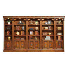 Parker House Huntington 5-Piece Library Wall, Pecan
