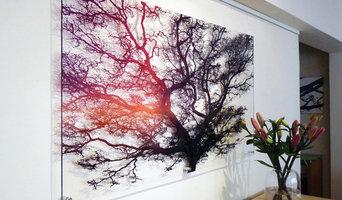 signarture 'burrawang' perspex plexiglas artwork