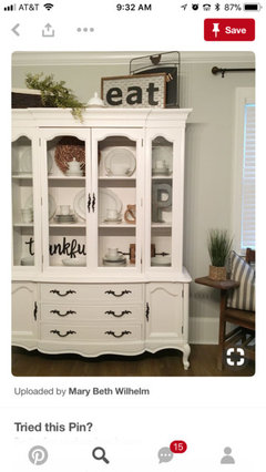 China Cabinet Be Painted