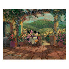 Disney Fine Art Tuscan Love by James Coleman