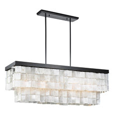 50 most popular energy star chandeliers for 2018 houzz mod virginia 5 light capiz shell chandelier chandeliers aloadofball Image collections