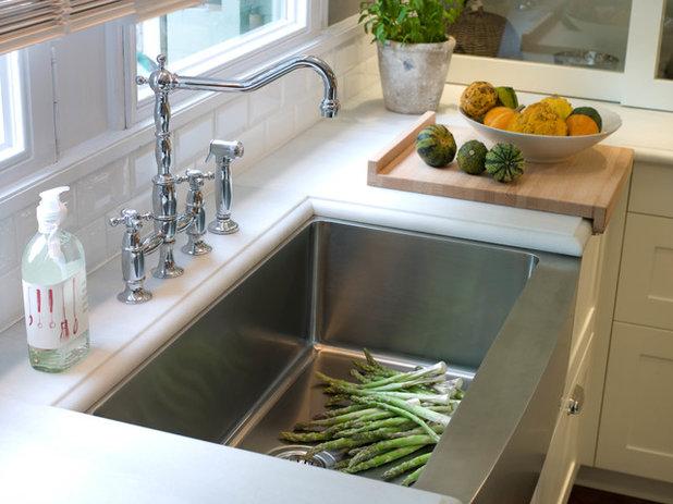 Cocina ideas para un fregadero funcional c modo y vers til - Modelos de fregaderos ...