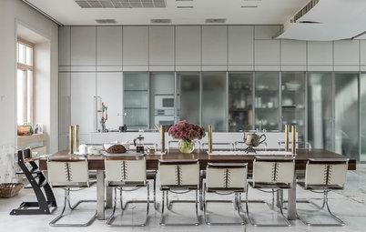 建築家の両親から息子の代へ。受け継がれるインダストリアルなアパートメント
