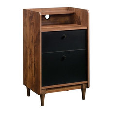 Harvey Park 2-Drawer Stand With File, Grand Walnut
