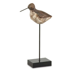 Mercana Lakeside, Woodlands Bird Statue, Brown
