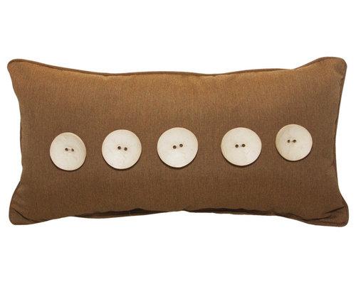 "5 Button 12""x22"" - Canvas Teak - Products"