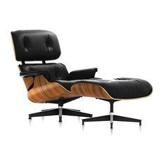 Eames Tall Lounge Chair and Ottoman by Herman Miller, Santos Palisander