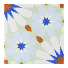 """Anabella 9""""x9"""" Porcelain Field Tile, Uffizi"""