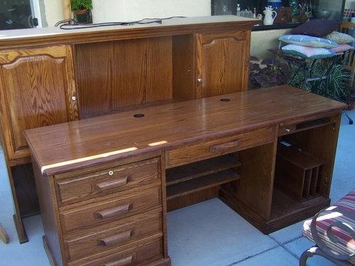 Groovy Refinishing Oak Desk Download Free Architecture Designs Scobabritishbridgeorg