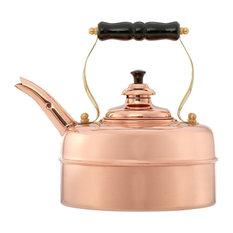 Simplex Kettles by Newey & Bloomer - Simplex Kensington Whistling Tea Kettle, Copper - Kettles