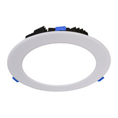 """8"""" Round White Flat Panel LED Downlight in 3000K (DLE821203KRDWH)"""