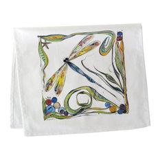 Tea Towel, 17 X 30, Dragon Fly
