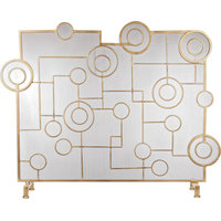 Uttermost Frankie Contemporary Fireplace Screen